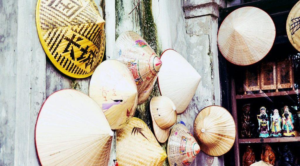 Vietnamese koloniale hoed