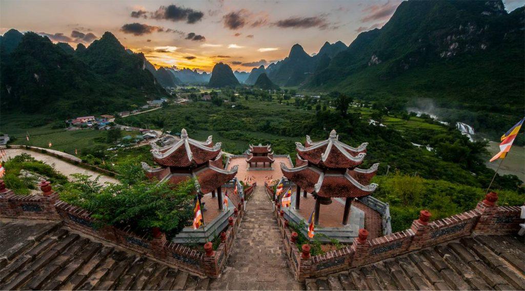 Ban Gioc tempel