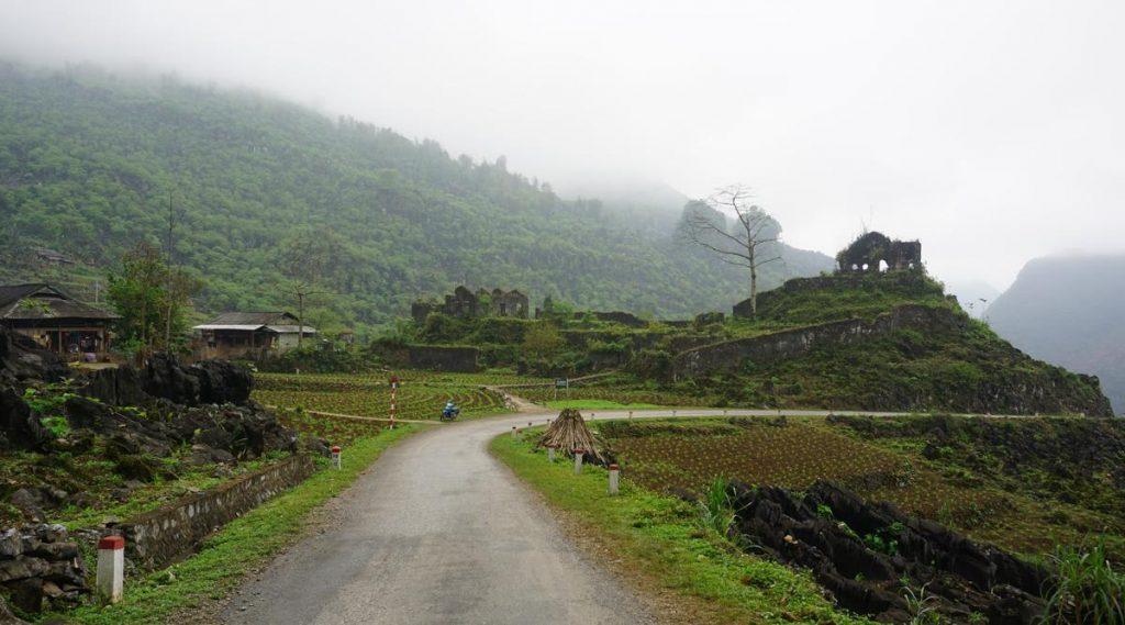 Frans koloniale wachttoren in Ha Giang