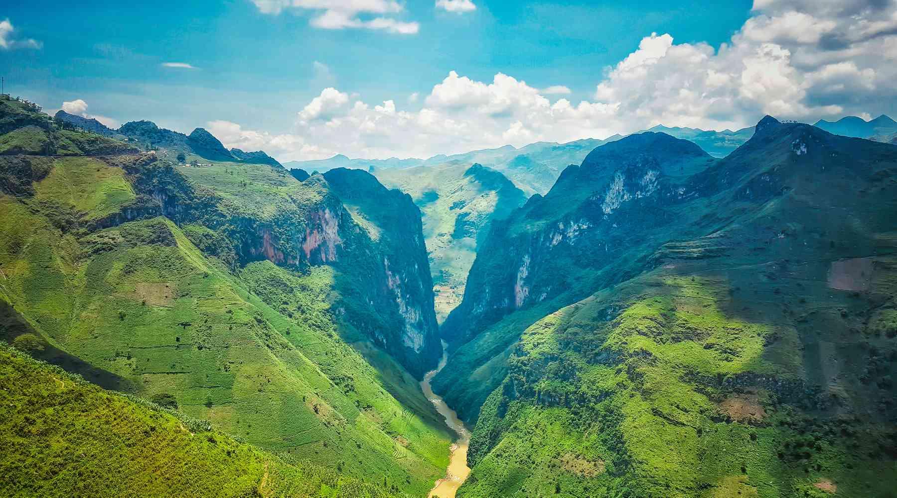 Ma Pi Leng Pass in Ha Giang