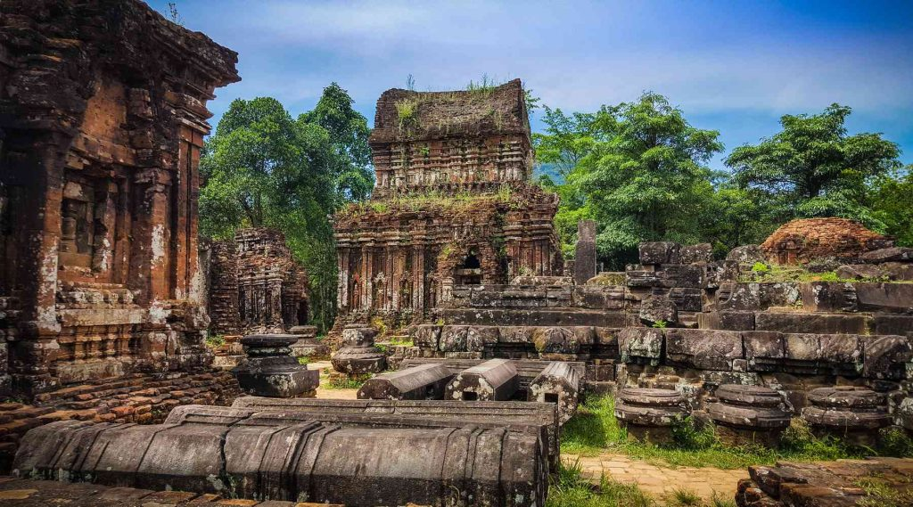 My Son Sanctuary tempel in Vietnam