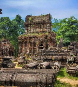 My Son Sanctuary tempel in Vietnam