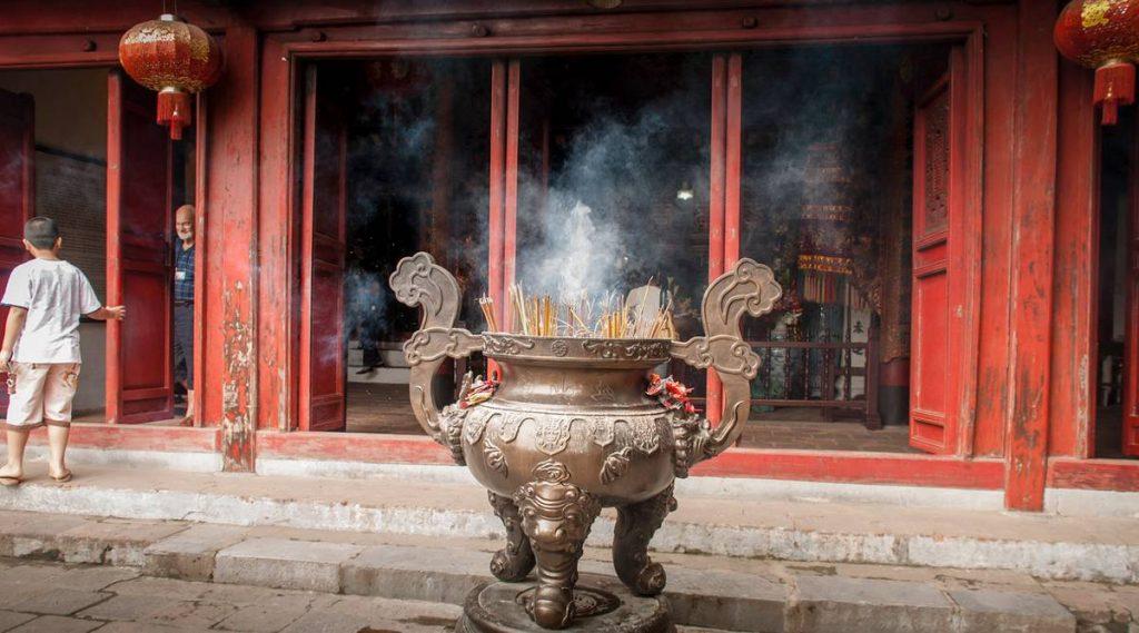 Ngoc Son Tempel in Hoan Kiem meer