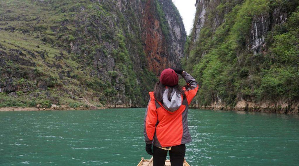 Nho Que rivier boottocht