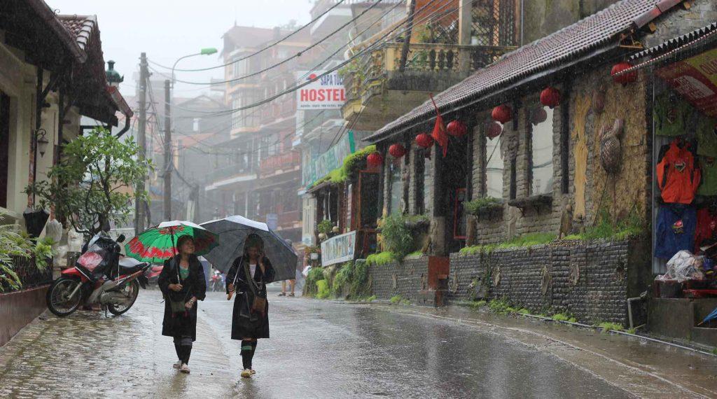 regenseizoen in Vietnam