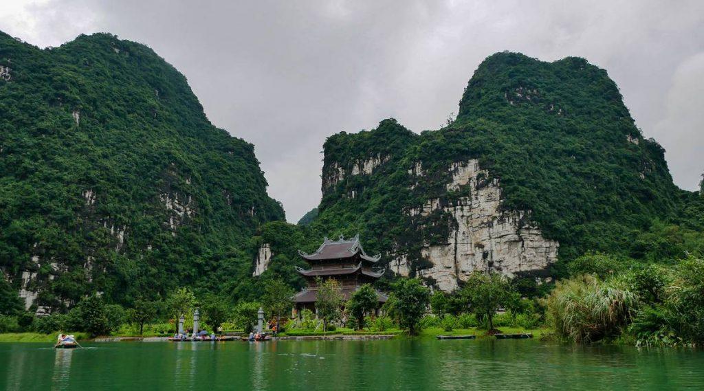 Trang An tempel