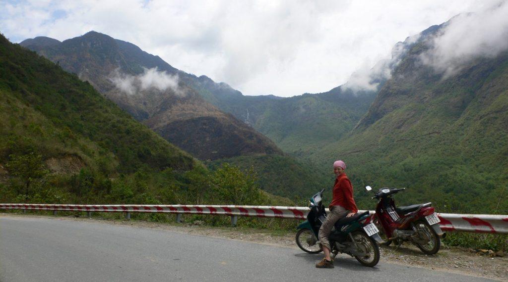 scooter rijden Sapa