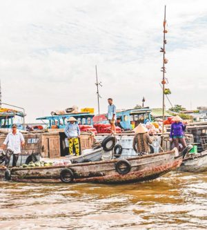 Cai Rang drijvende markt Mekong Delta tour