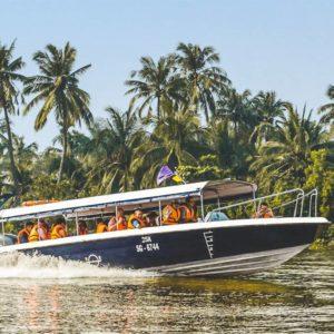 Cu Chi Tunnels tour met speedboat