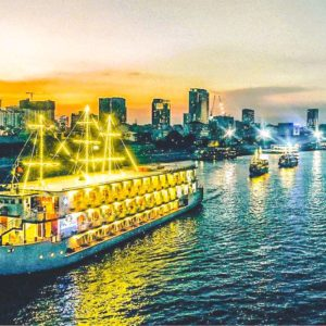 Diner cruise over de Saigon rivier