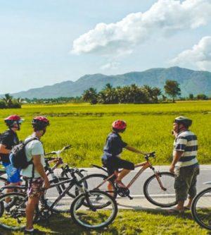 fietsen door het platteland van Dalat