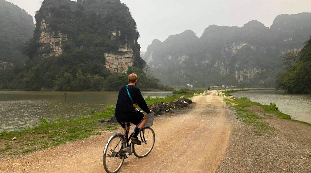fietsroute Ninh Binh