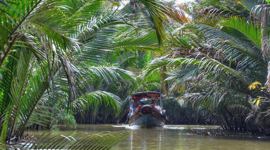 My Tho in de Mekong Delta