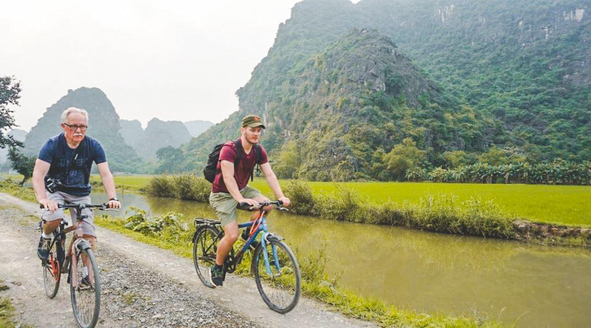 fietsen - Ninh Binh tour
