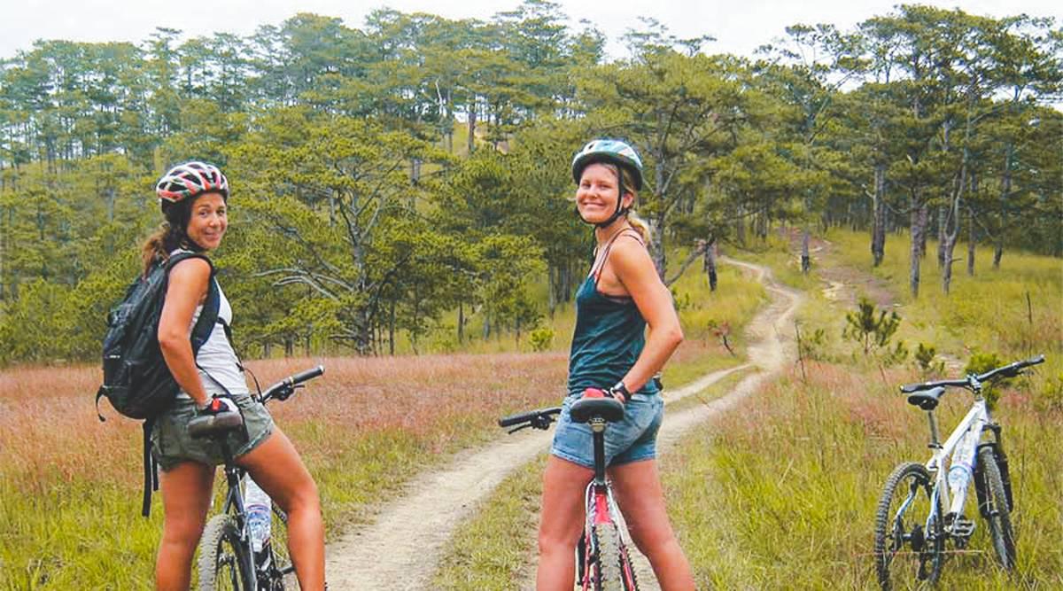 Phoenix Hill mountainbiken in Dalat
