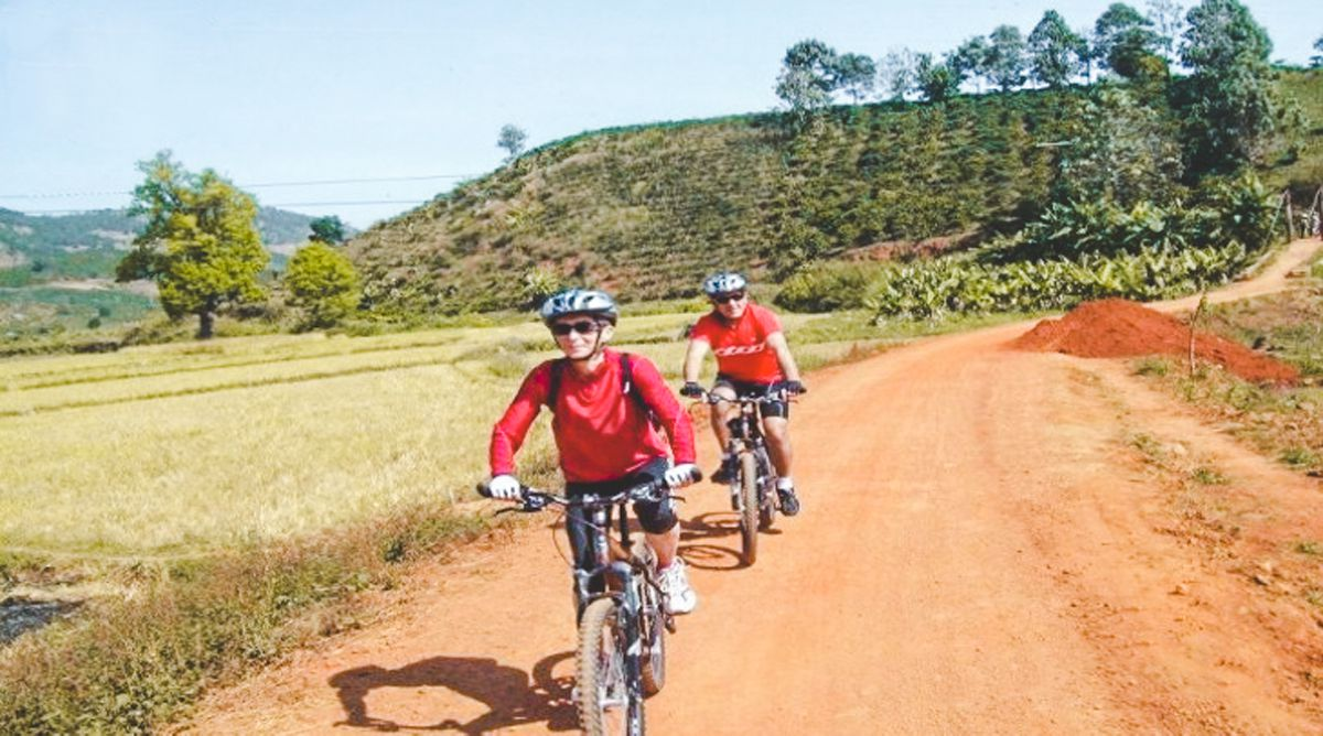 Phoenix Hill mountainbiken in Dalat