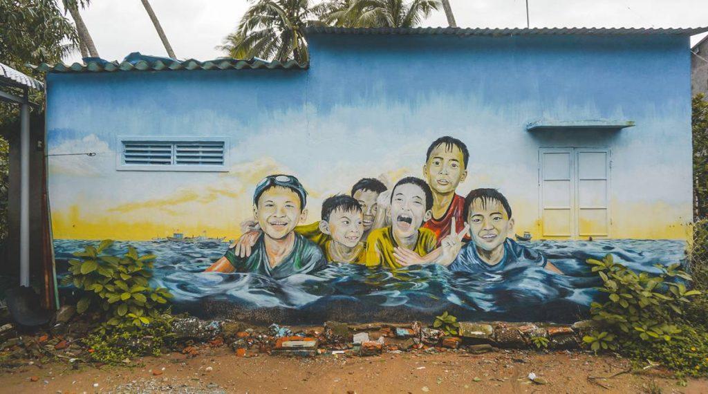 Tam Hai mural village