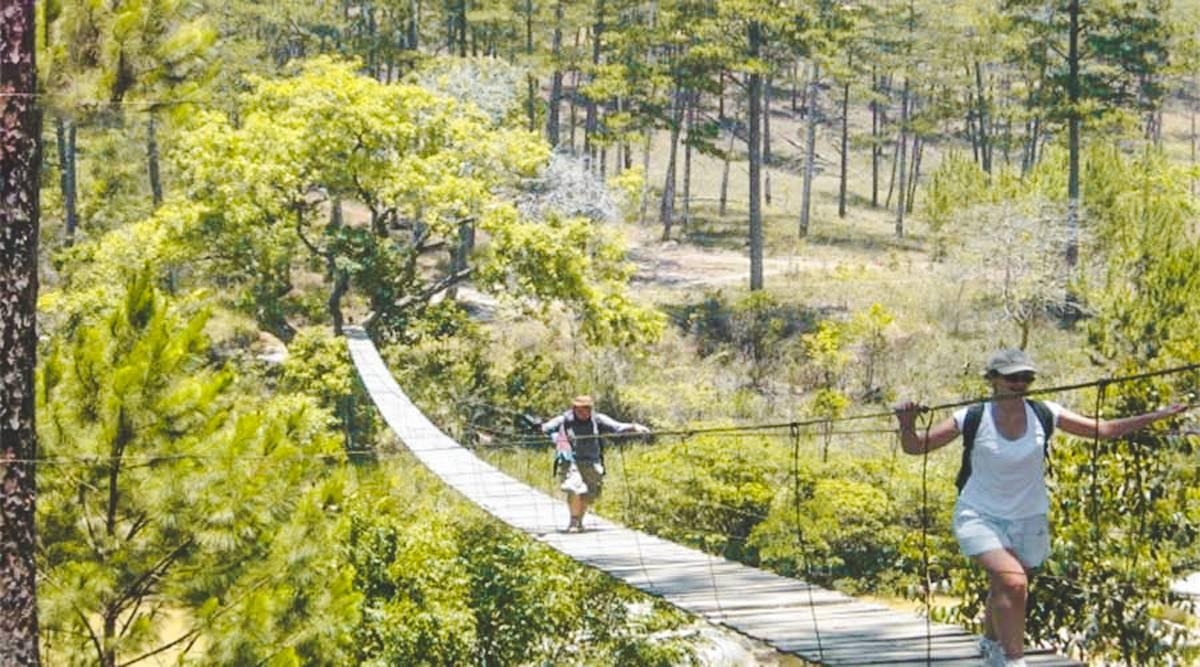 trekking Heaven gate trail in Dalat