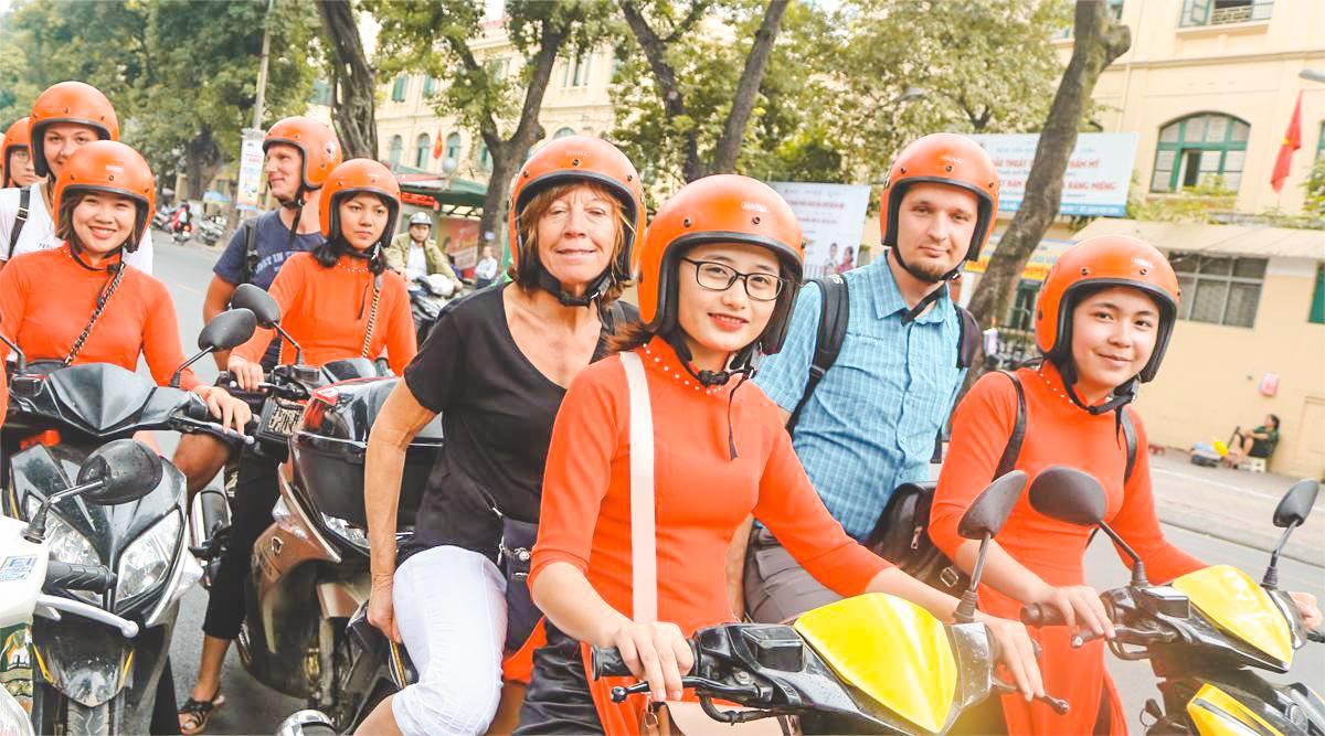Vespa stadstour door Ho Chi Minh City