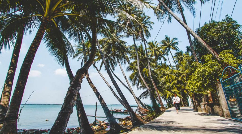 wegen Tam Hai eiland