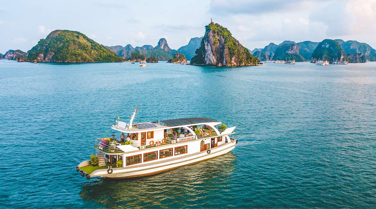 Halong Bay 1-daagse boottocht