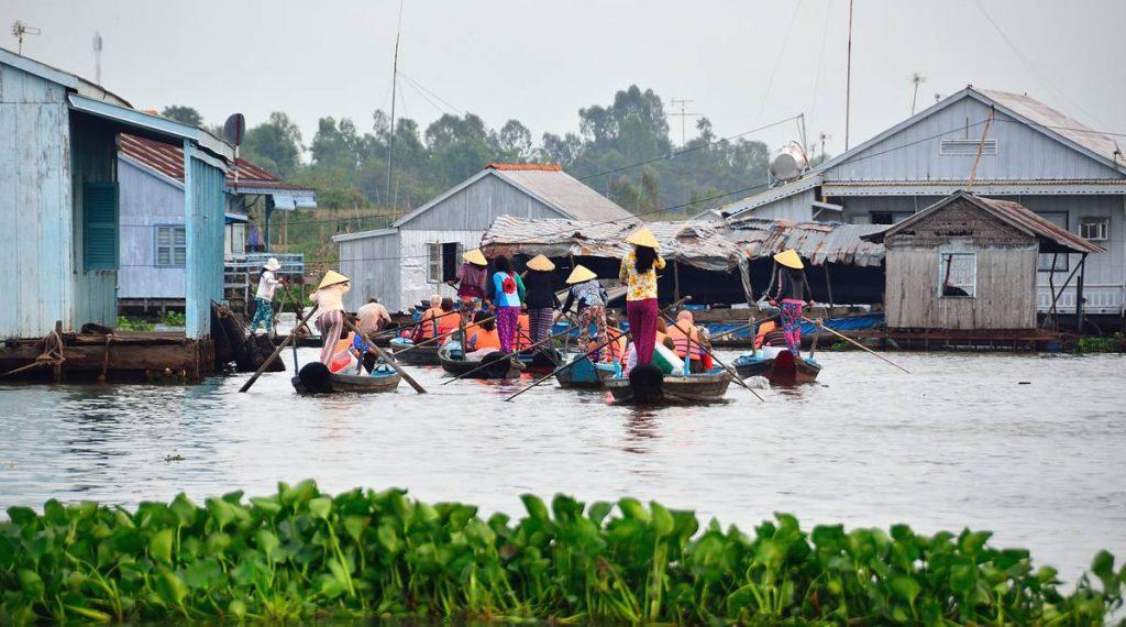 Chau Doc drijvend dorp