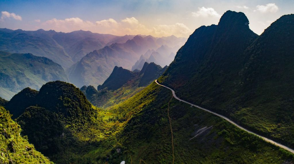 drone in Ha Giang