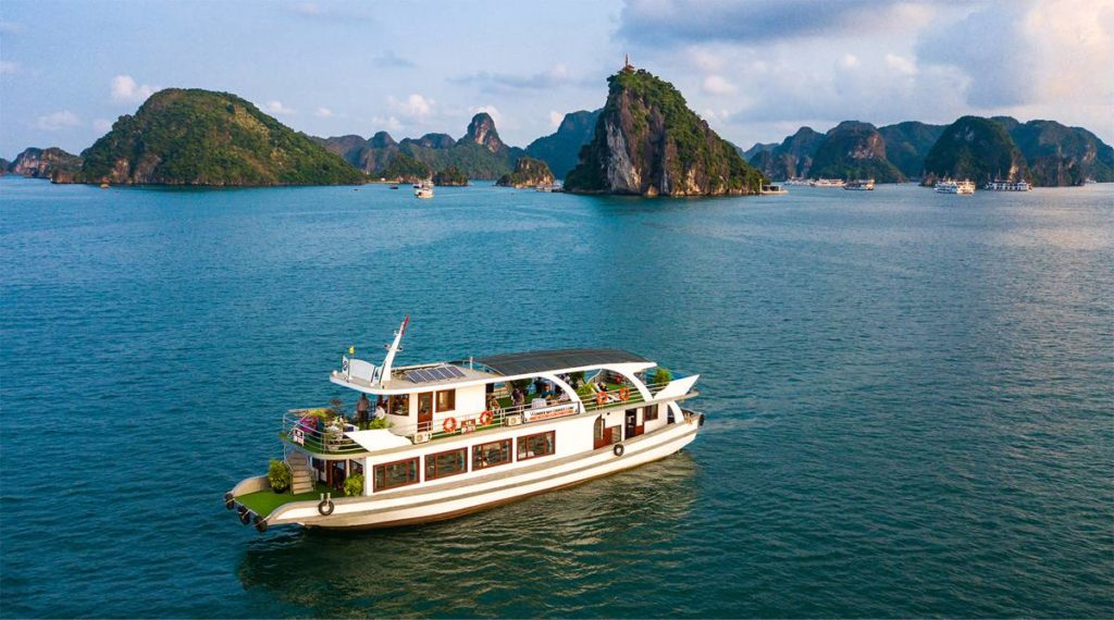 Halong Bay 1 dag boottocht
