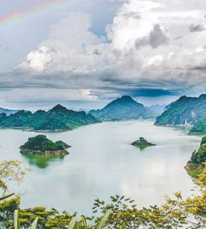 Hoa Binh meer tour