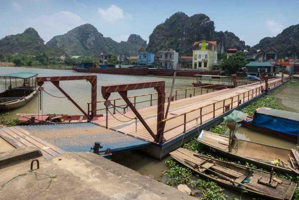 Kenh Ga drijvend dorp