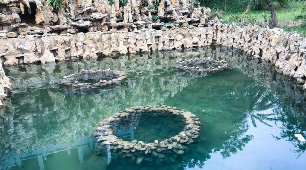 Kenh Ga hot springs