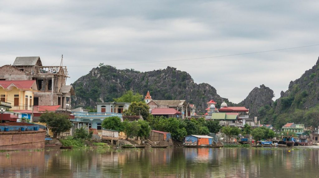 Kenh Ga in Ninh Binh