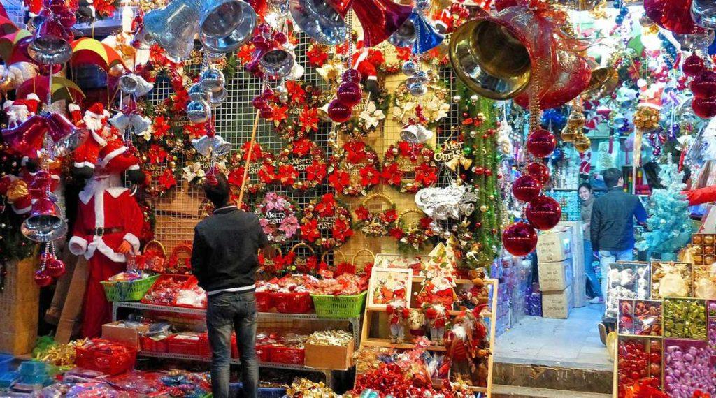 kerst in Hanoi
