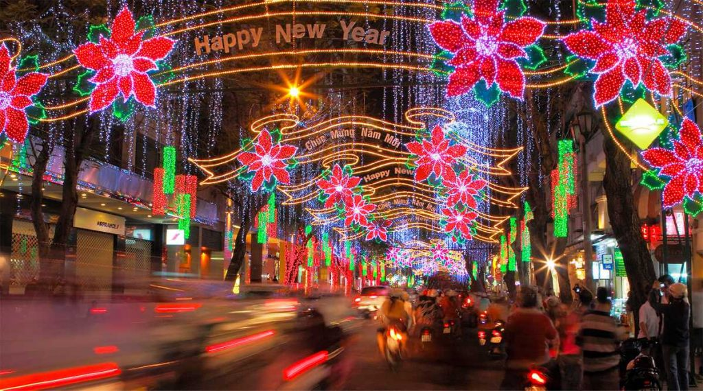 kerst in Ho Chi Minh City
