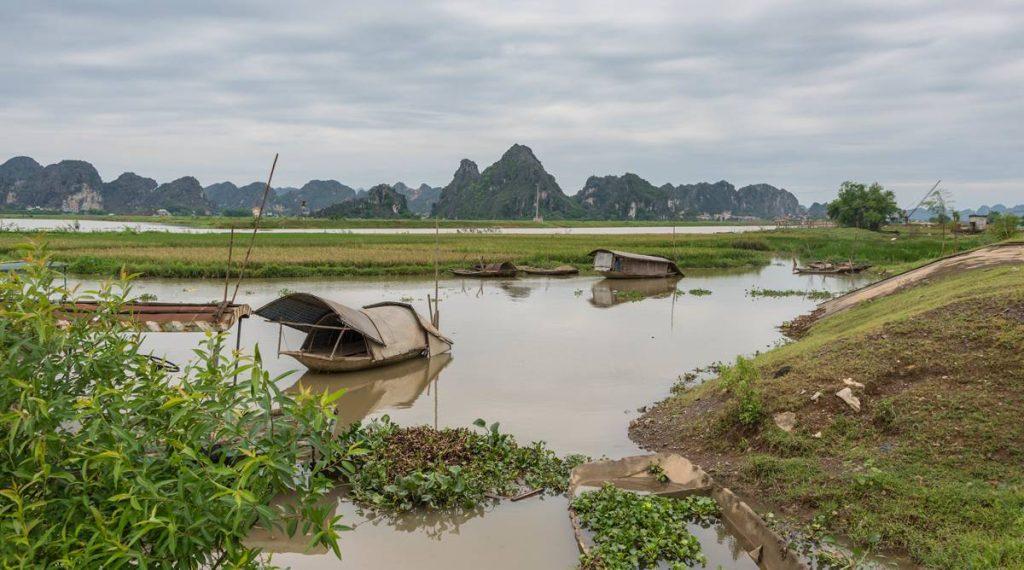 Ninh Binh omgeving Kenh Ga