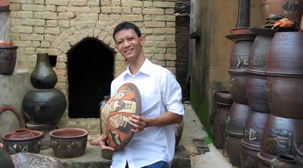 Phu Lang potten dorp