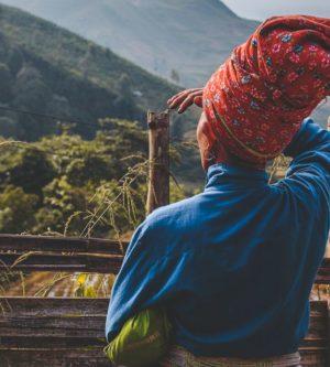 Red Dao trekking in Sapa