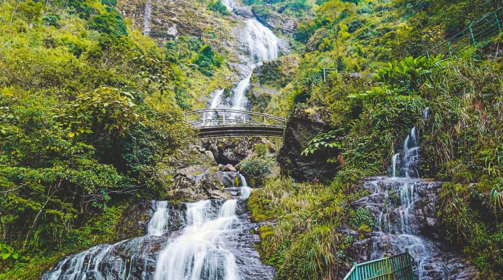 Silver waterval Sapa
