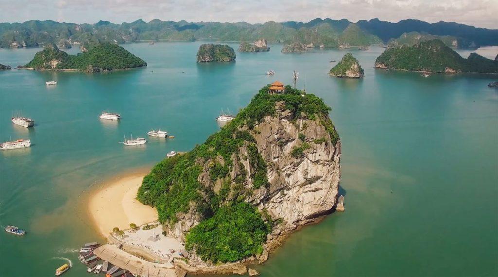 Titop eiland Halong Bay