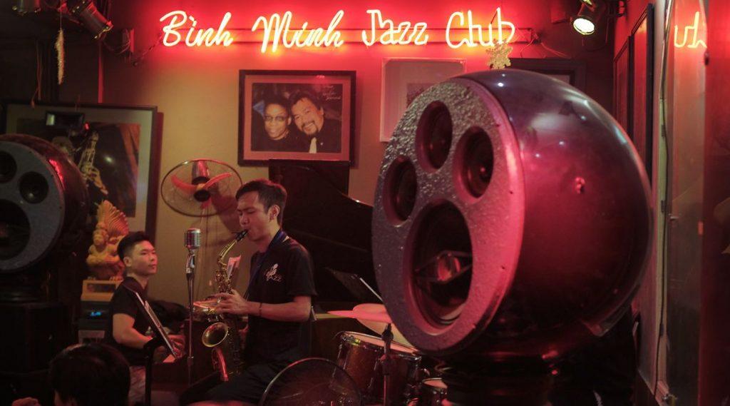 uitgaan Hanoi Jazz club