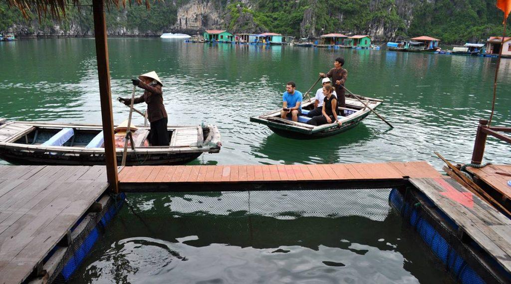 Vung Vieng drijvend vissersdorp
