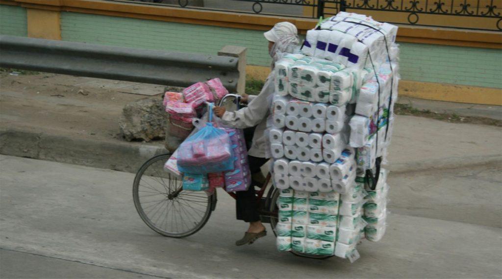 WC papier Vietnam