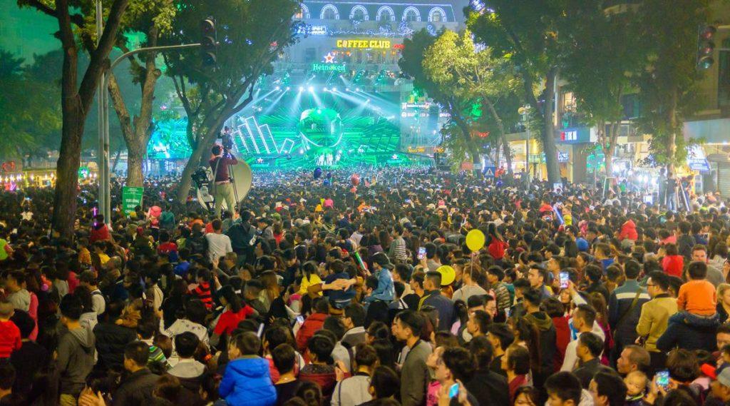 Nieuwjaar in Hanoi