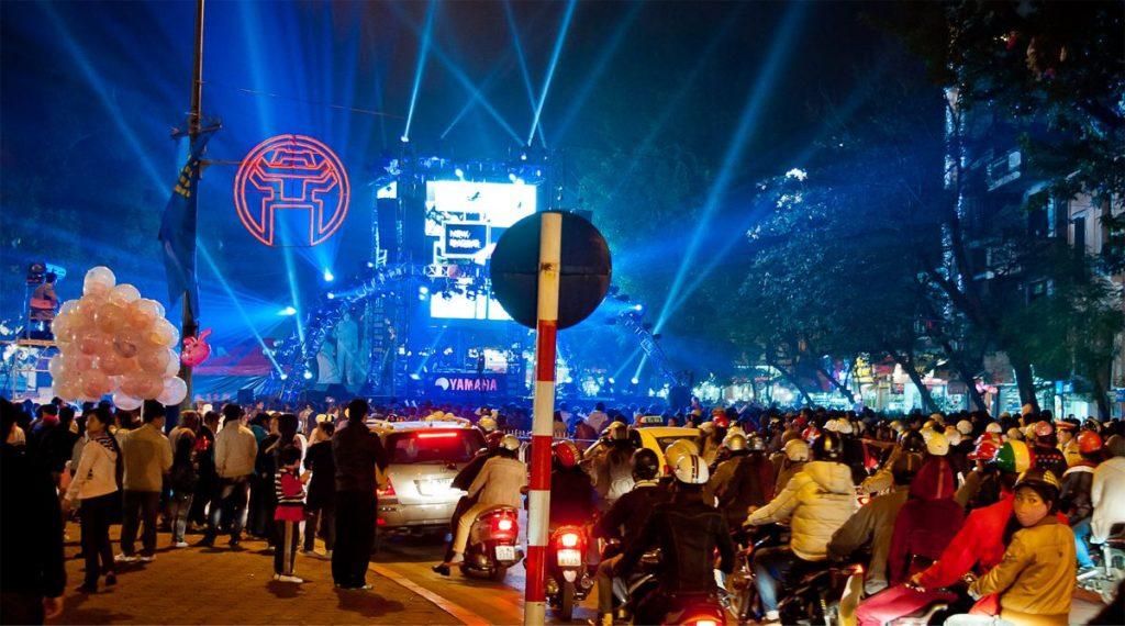 Oud en Nieuw in Hanoi