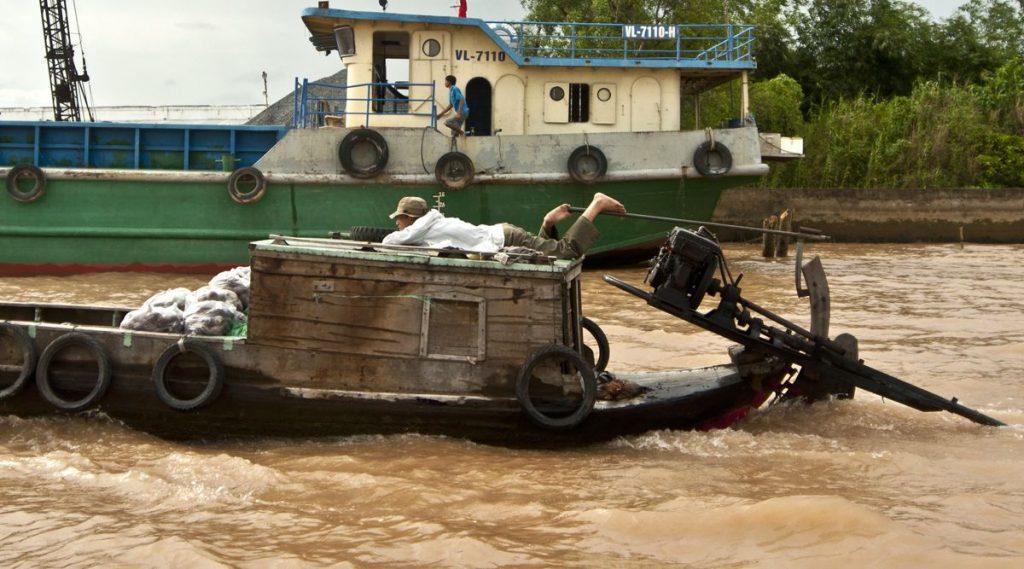 Cai Be drijvende markt