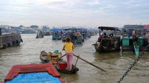 Cai Rang drijvende markt