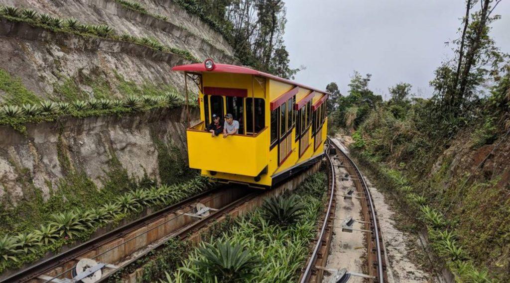 Funicular trein