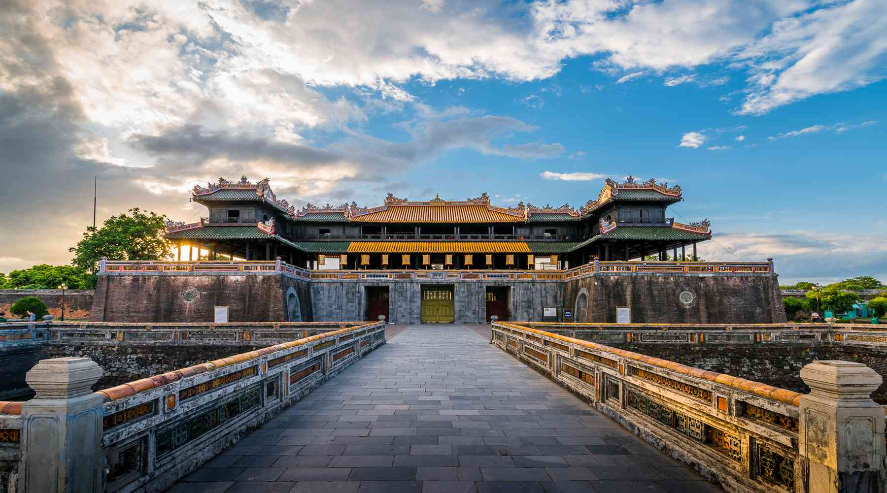 Hue Citadel en de verboden stad