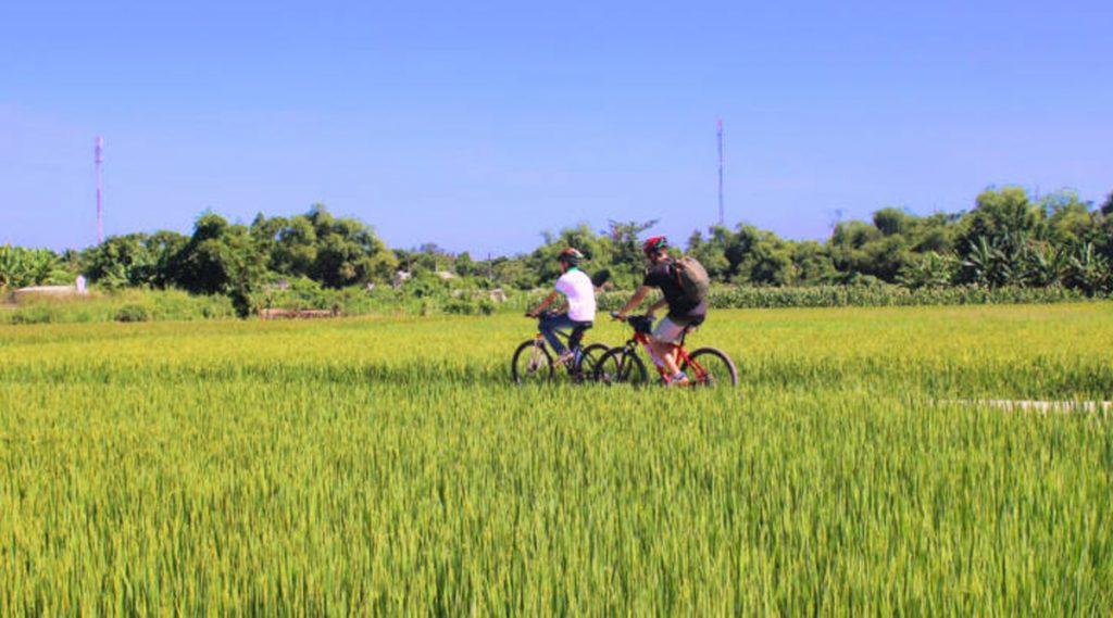 Hue fietsen platteland