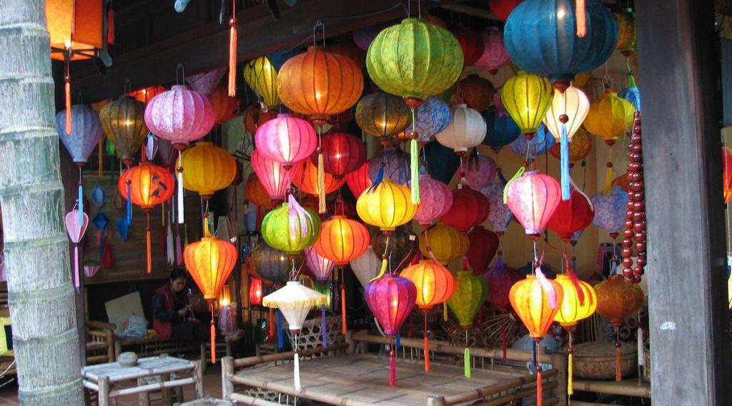 lantaarn maken in Hoi An
